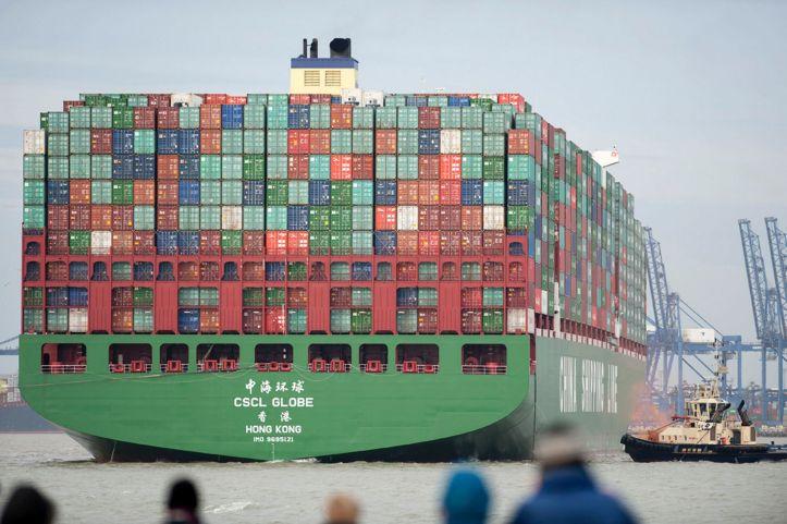 World's Largest Cargo Ships – RoshsWorld